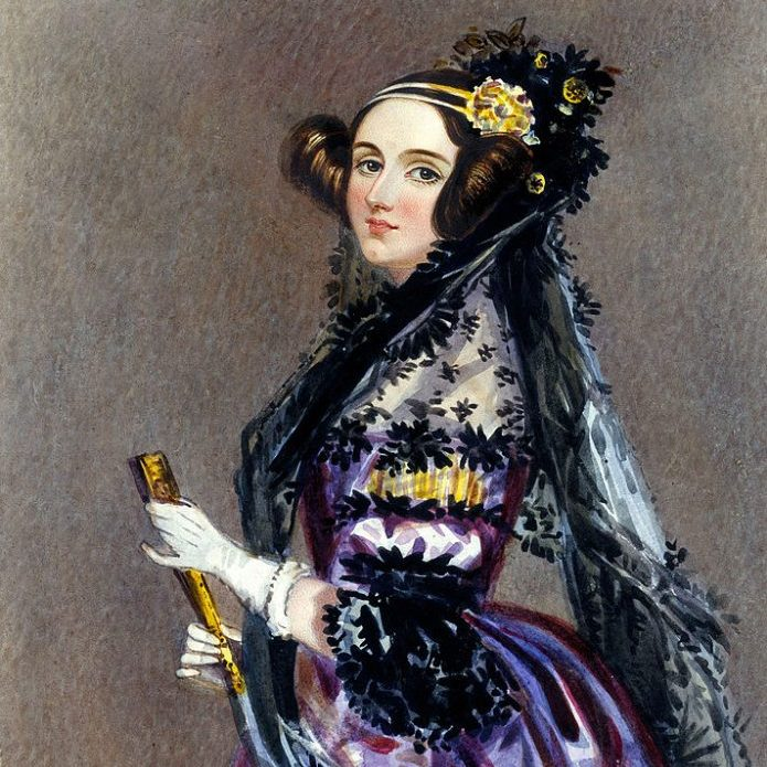 Image depicting the first computer programmer - Ada Lovelace
