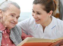 Reading to the elderly