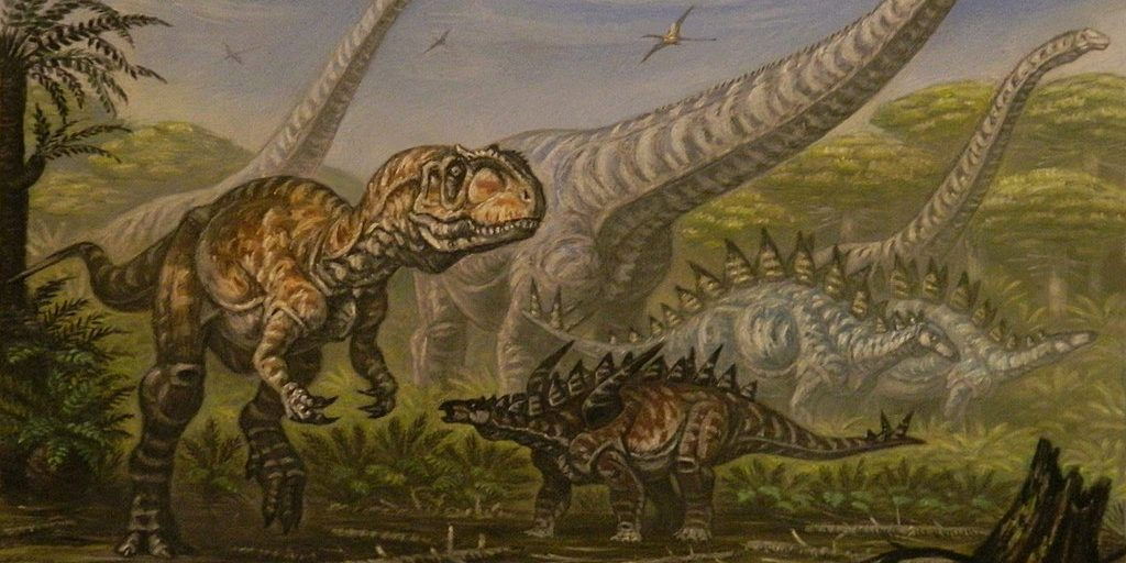 Image depicting word of the day - dinosaurs