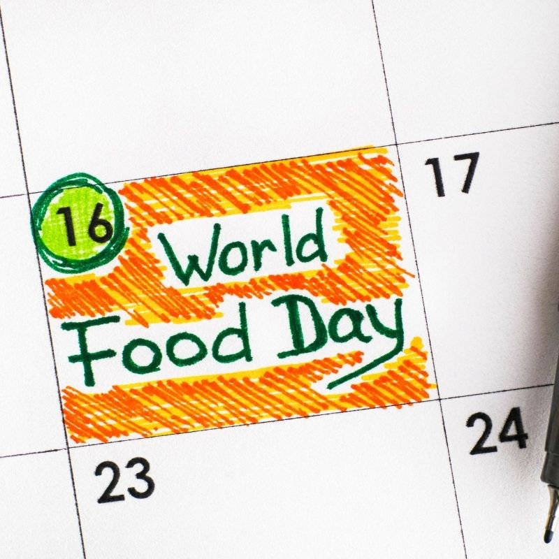 image depicting World Food Day - 16 October