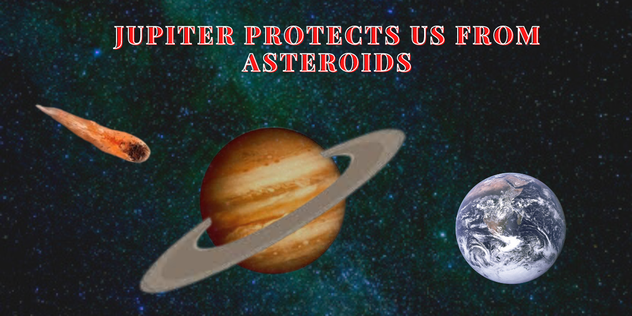 Jupiter protects us from asteroids