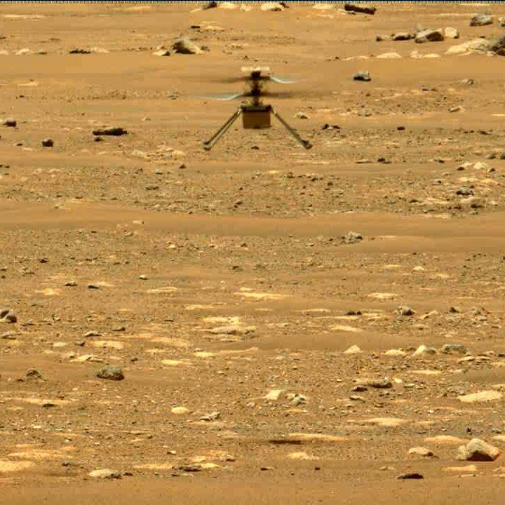 Image depicting Mars Helicopter Ingenuity