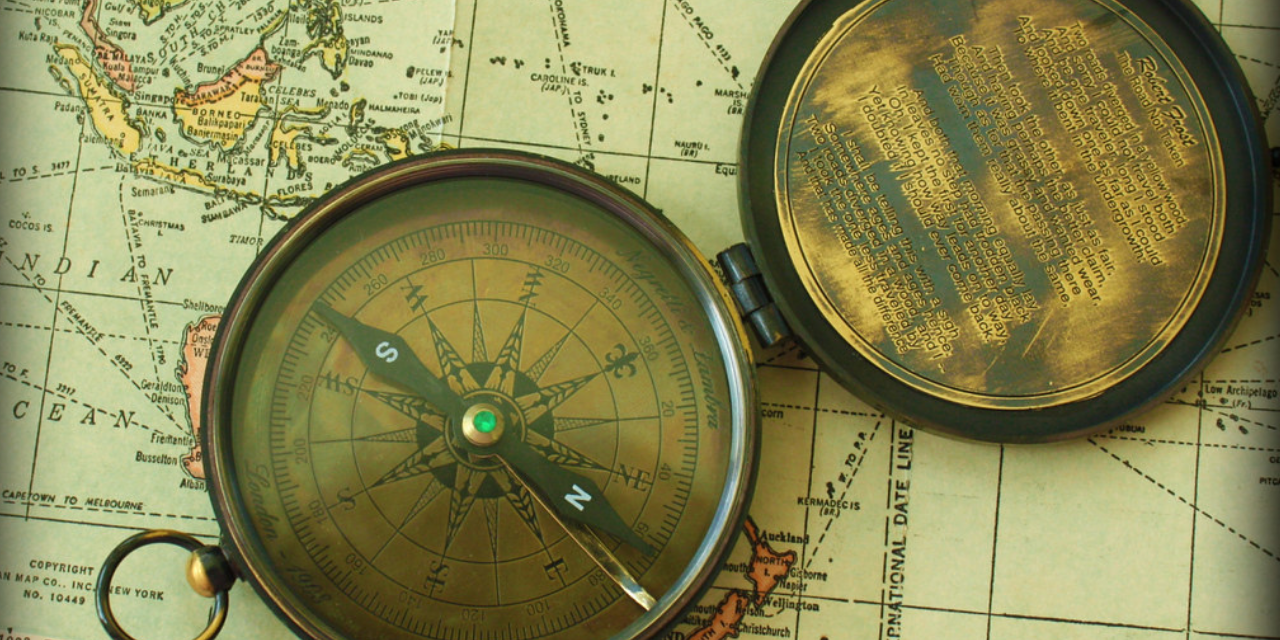 who invented the first compass