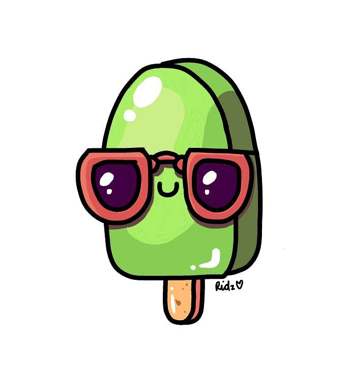 Ice Cream, Popsicle, Funny, cool