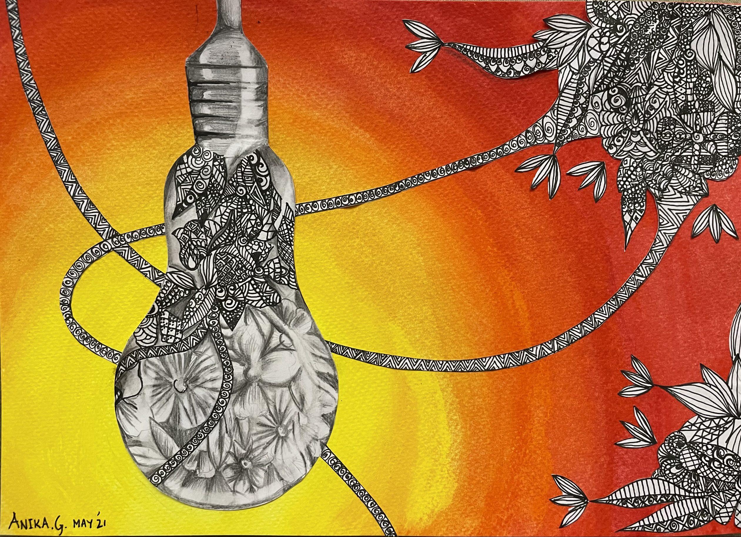 Image reflecting Hope, Corona, Freedom