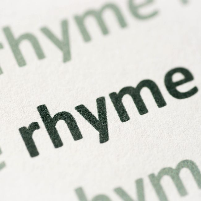 Rhyme, Poem, Story, Funny, Math, Friends