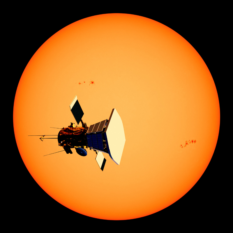Image depicting Parker Solar Probe