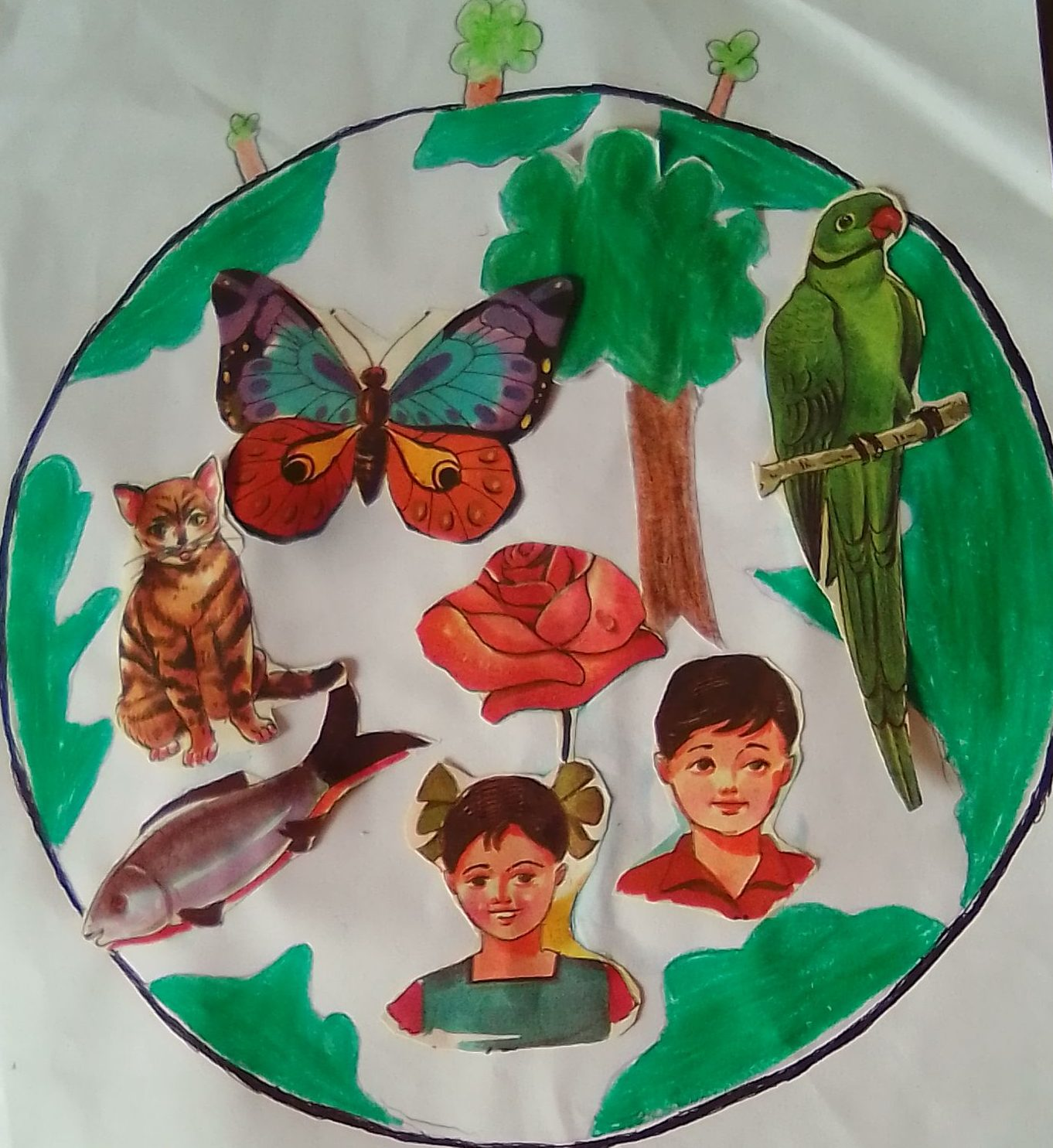 Image depicting biodiversity, art, craft