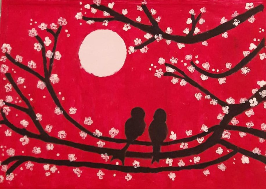 Image depicting Bud Painting