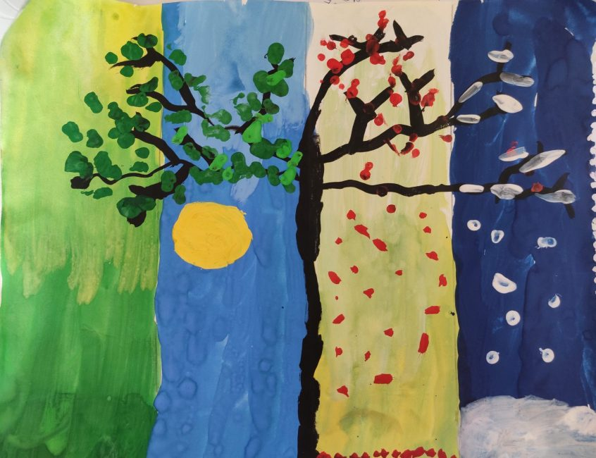 Image depicting seasons