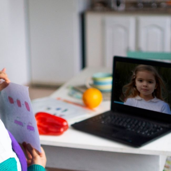 Image depicting online classes extravaganza