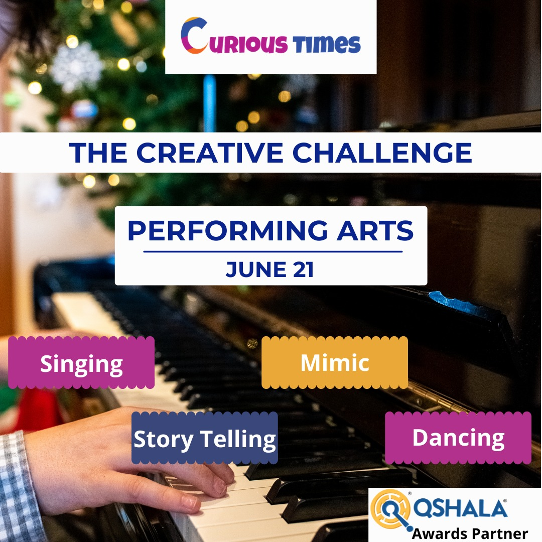 Image Depicting The Creative Challenge - Performing Arts