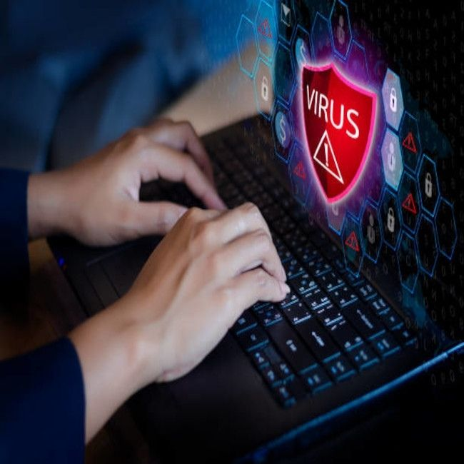 Over 6,000 new computer viruses are created and released every month