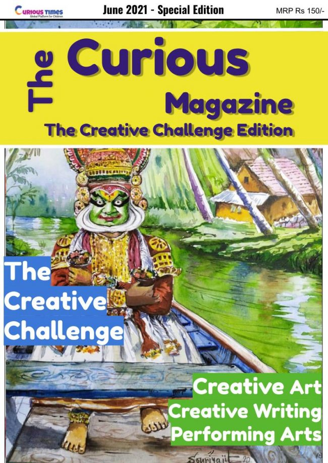 image depicting The Curious Magazine | The Creative Challenge Special