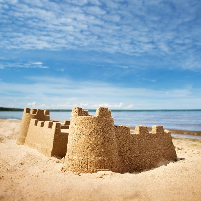 Image depicting The world's tallest sandcastle is in Denmark