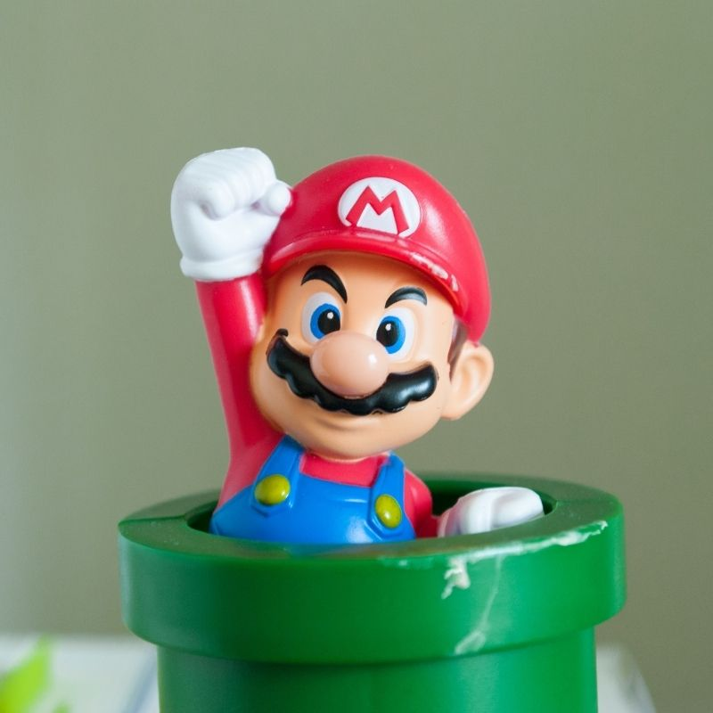 Image depicting video game, as in Rare Super Mario 64 video game sells for record price