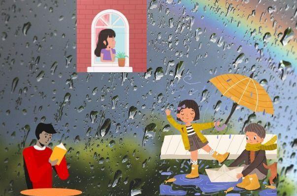 image depicting rainy season