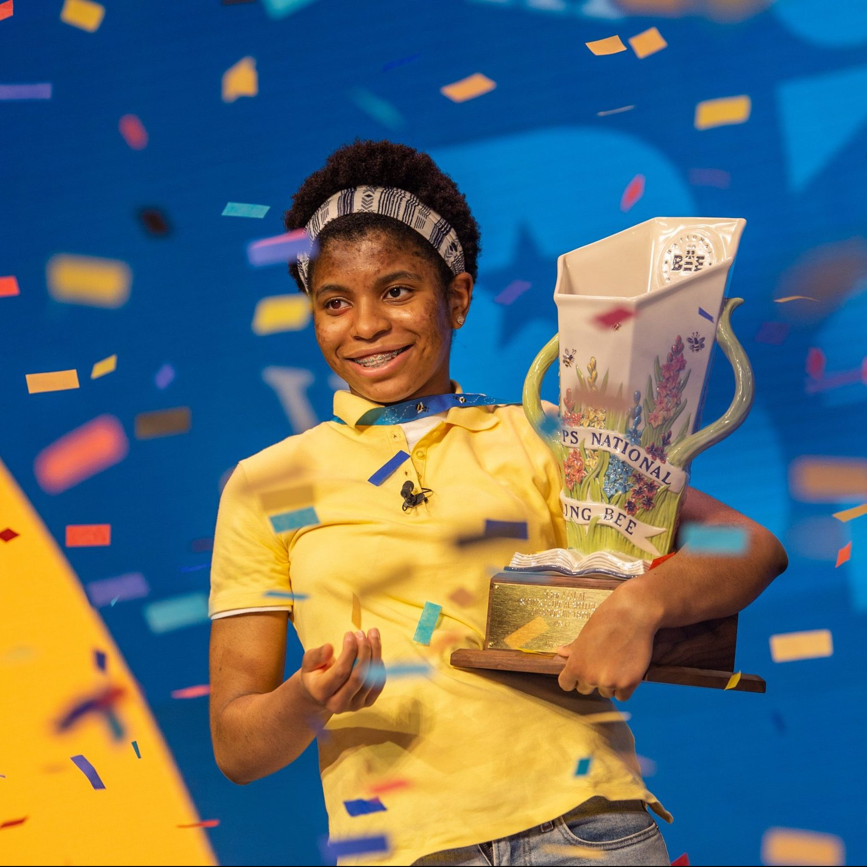 Image depicting 14-year-old girl makes history at US national spelling bee