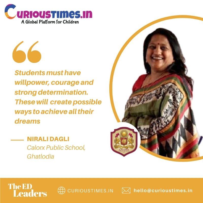 Image depicting Ed Leader - Ms. Nirali Dagli, Colarex Public School, Ghatlodia, Ahmedabad