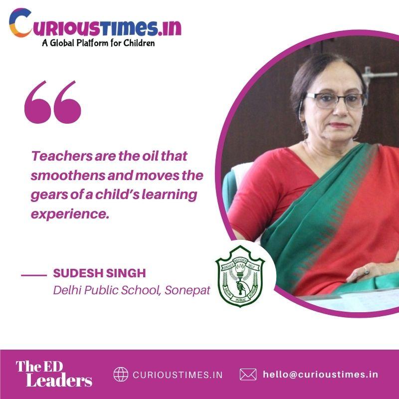 Image depicting A Paradigm Shift in Learning - Ms. Sudesh Singh, DPS Sonepat