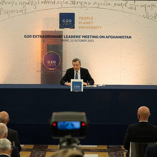 image depicting G20 leaders agree to step up effort to help Afghanistan