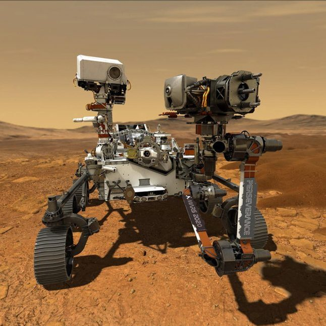 image depicting Perseverance rover's successes