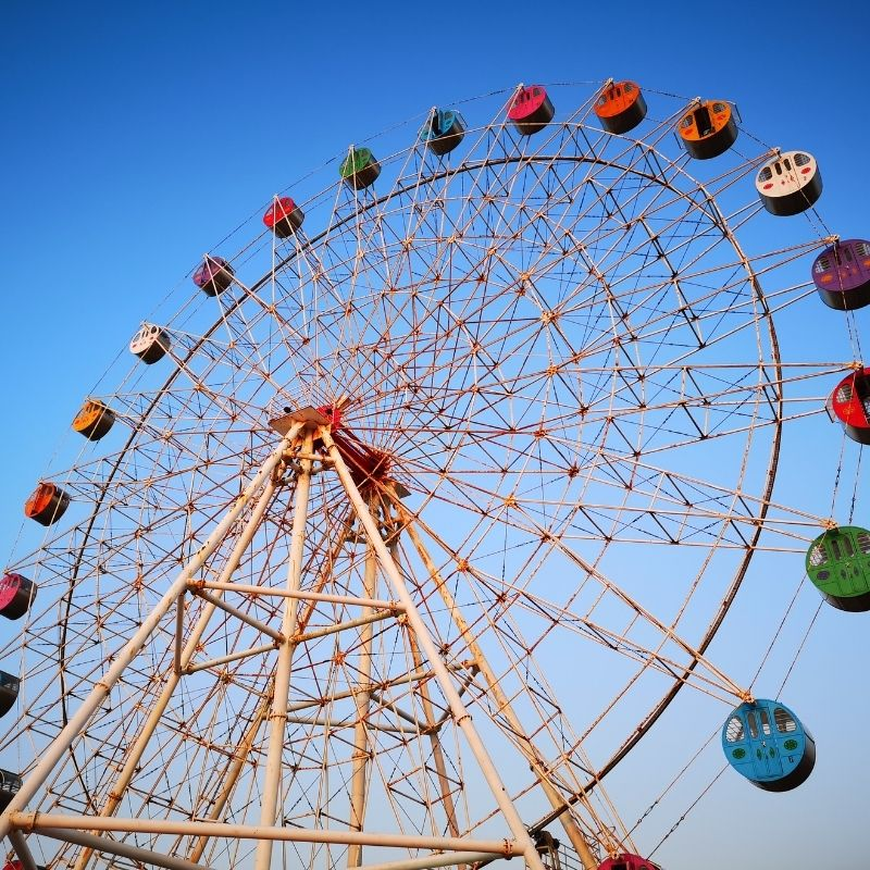 image depicting Watch a video: World's tallest Ferris wheel opens in Dubai, curious times