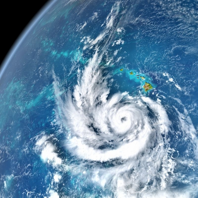image depicting Watch a video: What does it look like inside a hurricane?