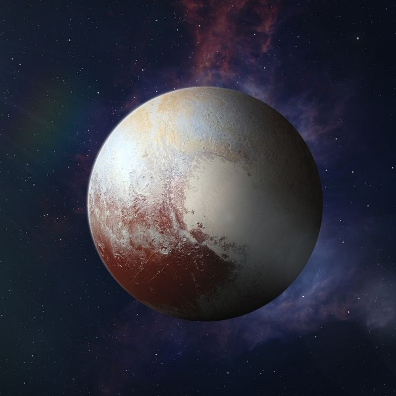 image depicting Study shows Pluto's atmosphere is slowly disappearing