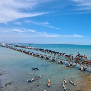 image depicting See the new Pamban Bridge, India's first vertical lift sea bridge